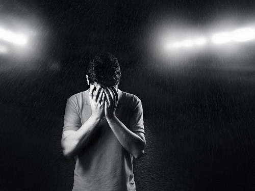 homme en dépression