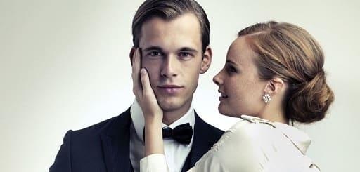Un séducteur et une femme