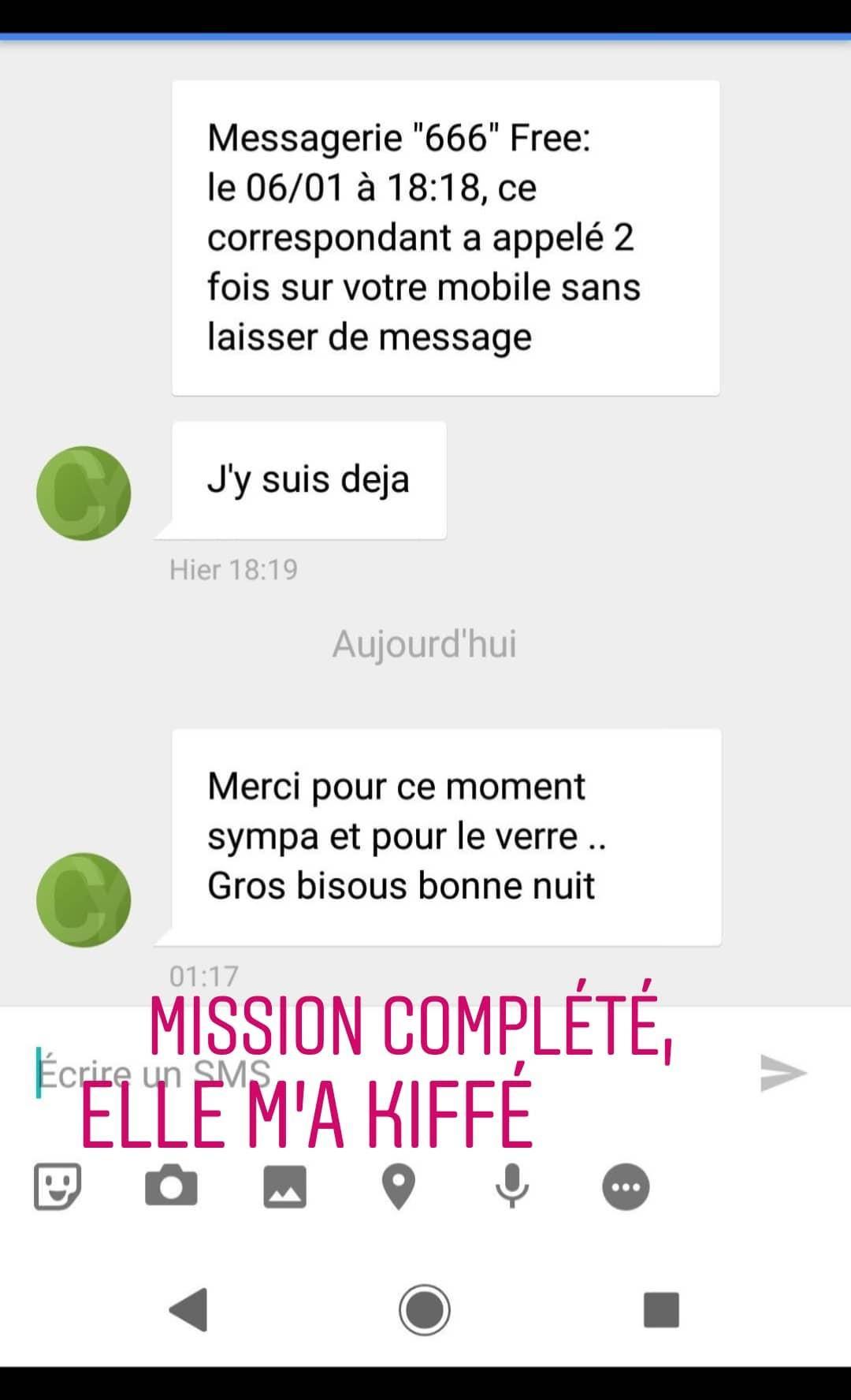 chauffer par sms